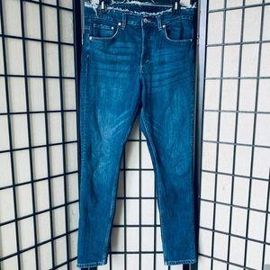 H&M &Denim high waist skinny ankle jeans 31